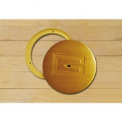Gared Sports 6430 16cm . x 13cm . Swivel Cover Plate - Brass