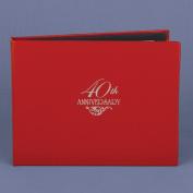 Hortense B. Hewitt 10505P 40th Anniversary Guest Book