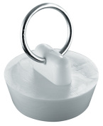 Waxman Consumer Products Group 2.5cm . White Basin Stopper 7512000T
