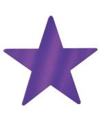 Beistle - 55838-PL - Die-Cut Foil Star - Pack of 36