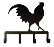 Village Wrought Iron KH-1 Rooster Key Holder