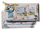 Lissom Design 11028 Folded Notecard - OBZ