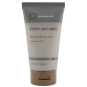 Every Man Jack Face Scrub, Fragrance Free, 150ml
