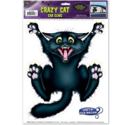 Crazy Cat Car Cling Party Accessory (1 count)