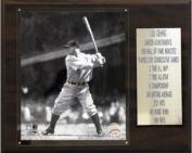 C & I Collectables 1215GEHRIGST MLB Lou Gehrig New York Yankees Career Stat Plaque