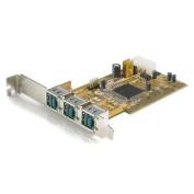 StarTech.com 3 Port PCI 12V Powered USB Adapter Card - USB PlusPower