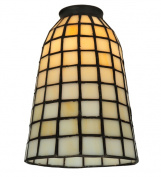 Meyda Tiffany 67039 12.7cm . W Geometric Beige Replacement Shade