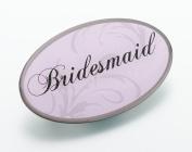 Lillian Rose JL630 BM Oval Bridesmaid Pin - Pink