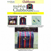 Kittywalk KWCLUB Clubhouse 24 in. x 18 in. x 24 in.