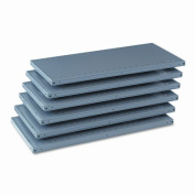 Tennsco 6Q23618MGY Industrial Steel Shelving for 87 High Posts 36w x18d Medium Gray 6/carton