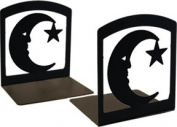 Village Wrought Iron BE-2 Moon and Star Bookends