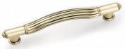 Strategic Brands 11104 4. 13cm Waverly Pull- Satin brass
