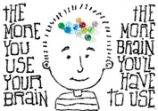 Trend Enterprises Inc. T-A67379 The More You Use Your Brain Poster