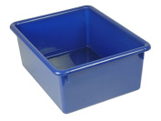 Romanoff Products ROM16104 5In Stowaway Letter Box Blue No Lid 13 X 10-.50 X 5