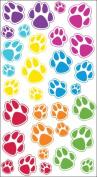 Sticko 442265 Sparkler Classic Stickers-Animal Tracks