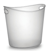 Fineline Settings 3404 Platter Pleasers 3.8l Clear Oval Ice Bucket-6 pcs