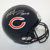 Victory Collectibles VIC-000126-30504 Mike Singletary Autographed Chicago Full Size Replica Helmet