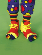 Costumes For All Occasions Fm55583 Clown Shoes And Toe Sock Set