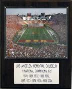 C & I Collectables 1215LAMC NCAA Football Los Angeles Memorial Coliseum Stadium Plaque