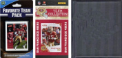 C & I Collectables 201049ERSTSC NFL San Francisco 49ers Licenced 2010 Score Team Set and Favourite Player Trading Card Pack Plus Storage Album