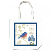 Alices Cottage AC17447 Bluebird Large Tote
