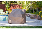 Duck Covers MCH404036 2 Extra Large Patio Chair Cover including Duck Dome - Cappuccino