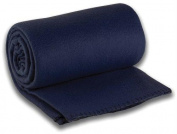 L.C.Industries 489 LNC Travel Blanket Navy