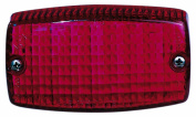 Peterson Mfg. Red Surface Mount Rectangular Tail & Stop Light V306R
