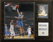 C & I Collectables 1215MBEASLEY NBA Minnesota Timberwolves Player Plaque