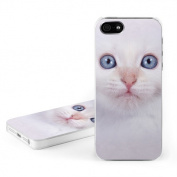 DecalGirl AIP5C-WKITTY DecalGirl Apple iPhone 5 Hard Case - White Kitty
