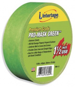 Intertape 2.5cm . Premium Grade Pro-Mask Green Paintersft. Tape 5803-1