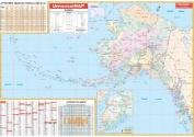 Universal Map 26852 Alaska Wall Map - Roller