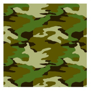 Amscan 220702 Camouflage Gift Wrap