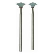 Prox Tech 28272 Silicon carbide mounted points 2 pcs.- knife-edge wheel