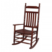 Giftmark 3500C Deluxe Adult Extra Tall Back Rocking Chair Cherry