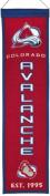 Winning Streaks Sports 47040 Colorado Avalanche Heritage Banner