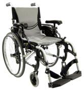 Karman Healthcare S-Ergo305Q16SS Ergonomic Wheelchair-Pearl Silver