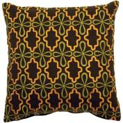Surya P0136-1818P Poly-Filler Decorative Pillow - Brown