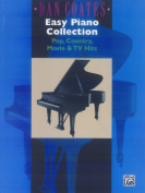 Alfred 00-AF9675 Dan Coates Easy Piano Collection- Pop- Country- Movie& TV Hits - Music Book