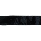 Cest Joli 29616464 Panne De Velours-Crushed Velvet 7-20cm . x 3.28 Yards-Black