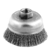 Advance Brush 410-82516 15.2cm Crimped Wire Cup Brush .014 Cs Wire