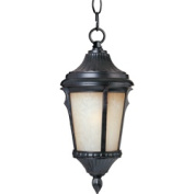 Maxim Lighting 3018LTES Odessa Cast 9 W 1-Light Outdoor Hanging Lantern - Espresso