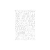 Karen Foster Design KF10946 Alphabet Cardstock Stickers 5.5X9 Sheet