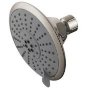 Kingston Brass KX258 Kingston Brass Watersense KX258 5 Diameter 5 Function Spray Pattern Shower Head Satin Nickel