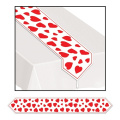 Beistle 70428 Printed Heart Table Runner
