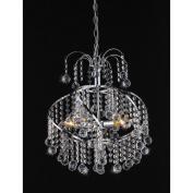 Warehouse of Tiffany RL2568 Helen Crystal-Chrome Chandelier