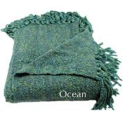 Woven Workz 018-036 Marion Throw - Ocean
