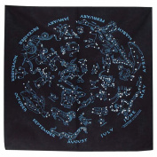 The Printed Image 104114 Stars - Glow-N-Dark Bandana