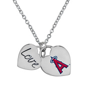 Game Time Group 101607 MLB Los Angeles Angels of Anaheim Heart Necklace