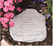 Kay Berry- Inc. 90220 Our Family Chain Is Broken - Memorial - 11 Inches x 10 Inches